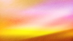 Colorful bright background. Orange, yellow, red, pink colors on an orange paper base. The effect of the northern lights in the horizontal plane.