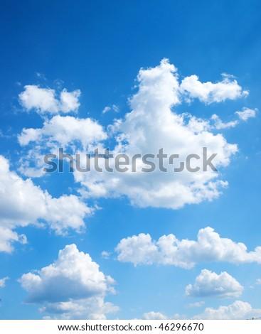 blue sky background. bright lue sky background