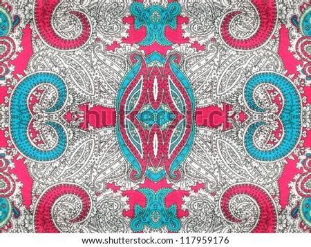 Colorful, bright paisley motif. More of this motif and more backgrounds in my port.