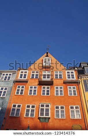 Colorful buildings next to Nyhavn Waterfront