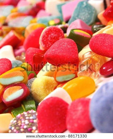 Colorful candy backgrounds