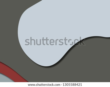 Colorful carving art.Paper cut abstract background with paper cut shapes. Template design layout for business presentations, flyers, posters, invitations #1305588421