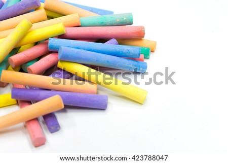 Colorful chalkboard #423788047