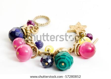 stockphoto:Colorfulcharmbracelet