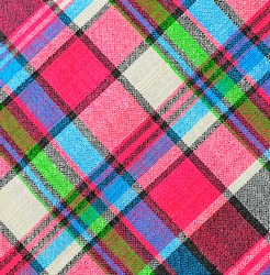 Colorful checkered loincloth fabric background