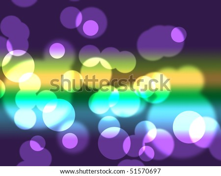 city lights wallpaper. stock photo : colorful city