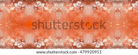 Colorful Complex Salt Crystal Patterns