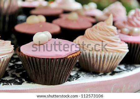 Colorful Cup Cake / Sweet snacks