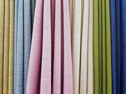 colorful curtain pattern, background