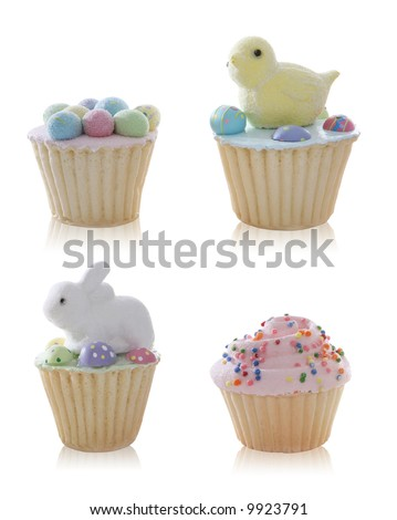 images of easter cupcakes. cute Easter cupcakes over