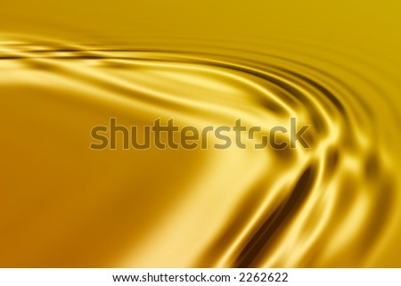 Colorful 3D rendered wave pattern (abstract background)