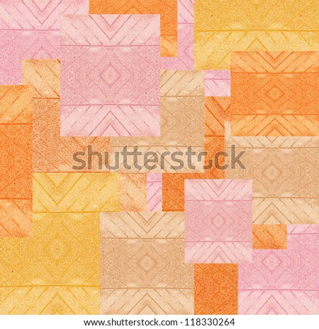 colorful designer architect sample of colored stones for background