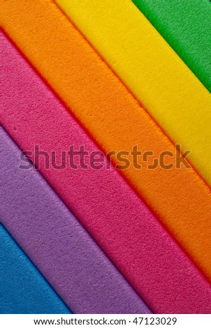Colorful diagonally striped background