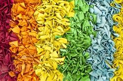 Colorful doormat.