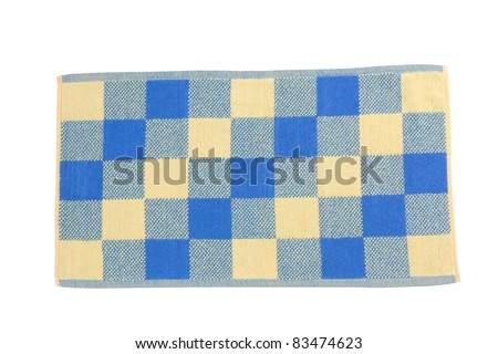 Colorful doormat for entrance door