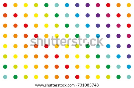 Colorful dot pattern Stok fotoğraf ©