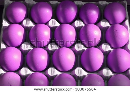 Colorful eggs for holiday easter or just for fun - conceptual idea