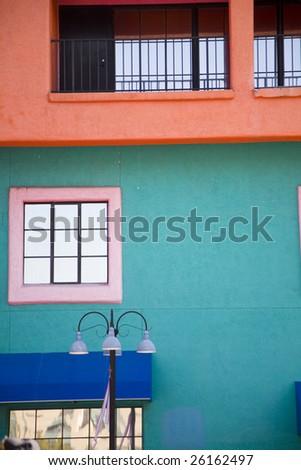 Colorful exterior in Tucson Arizona