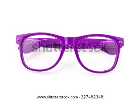 cb71d321a71 Colorful Eyeglasses isolated on white
