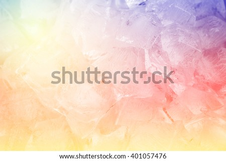 Colorful Fantasy Ice background.