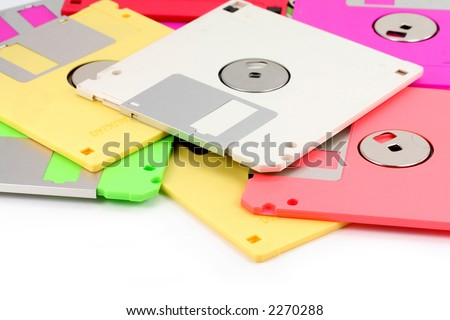 Colorful Floppy Colorful Floppy Disks