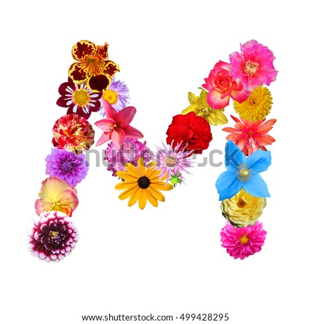 Free Photos Flower Letter M Avopix Com