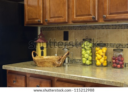 Search Terms Kitchen Decorations Tuscan Kitchen Cabinets Great ...