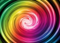 Colorful fusion spectrum