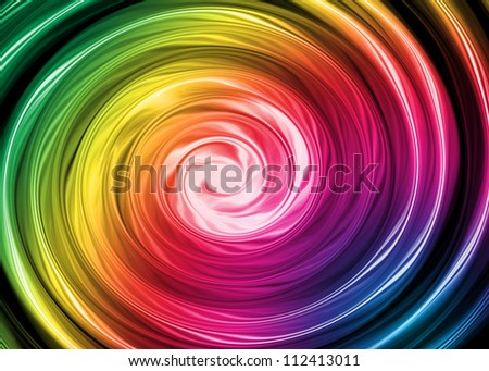 Colorful fusion spectrum