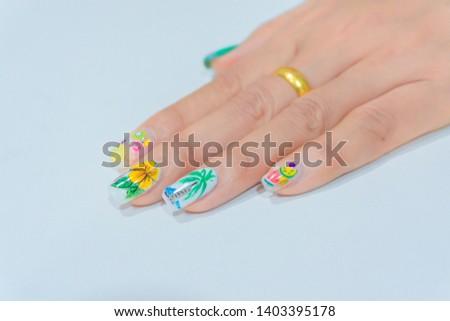 Hand Drawing Hibiscus Flower Images And Stock Photos Avopixcom