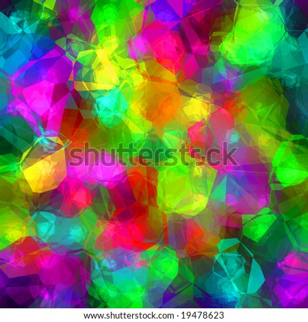 Colorful Glass Background