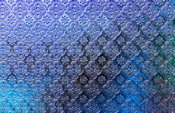 Colorful glass wall pattern abstract background.