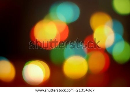 colorful glittering lights