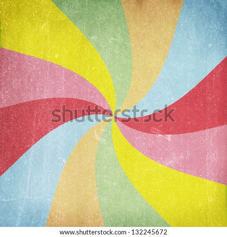 Colorful grunge swirl background