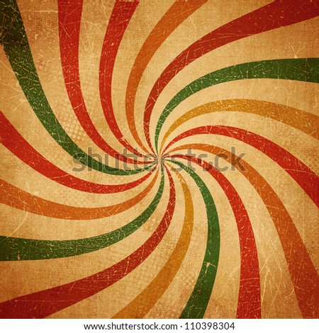 Colorful grungy swirl background