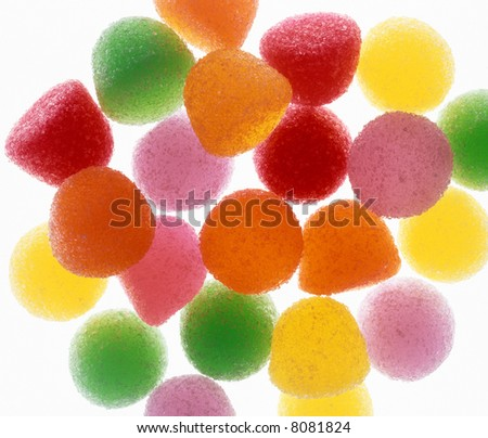 Colorful Gum Drops