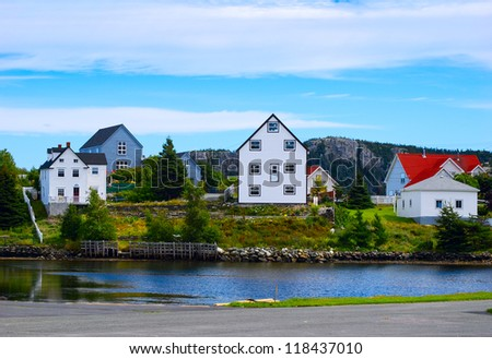 Colorful homes in Newfoundland