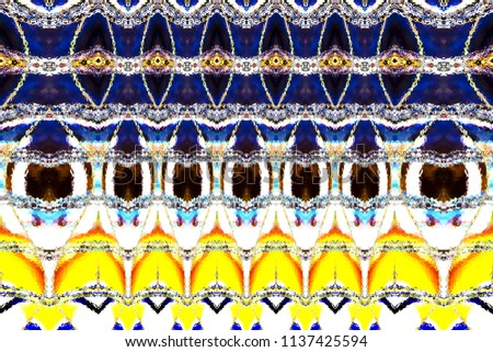 Colorful horizontal pattern for textile, tiles and backgrounds