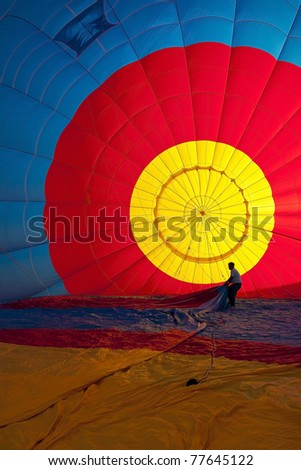 Colorful Hot Air Balloons (Interior)