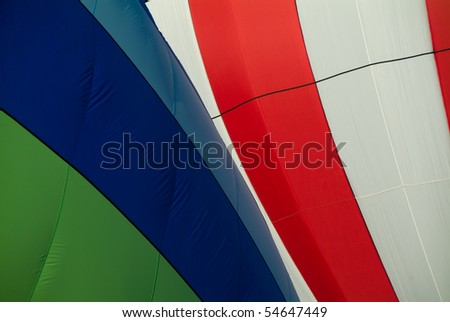 Colorful Hot Air Balloons preparing for flight #54647449