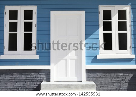 Colorful House - stock photo