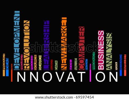 colorful innovation bar code