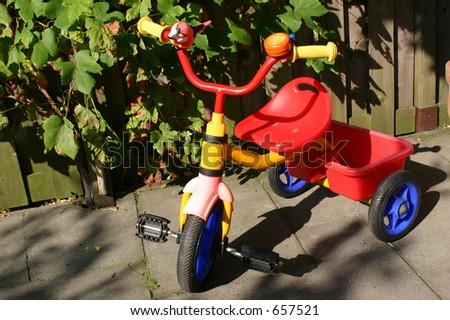 Colorful Kids Bike