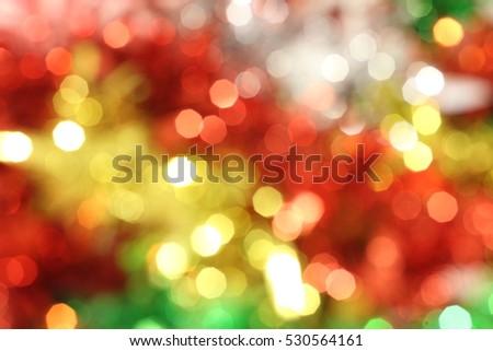 colorful lights bokeh background, Chrismas lights bokeh