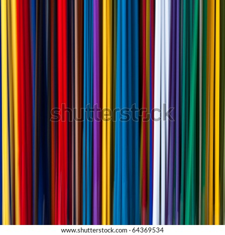 colorful linear abstract background - stock photo
