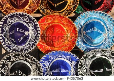 Colorful Mexican Sombrero