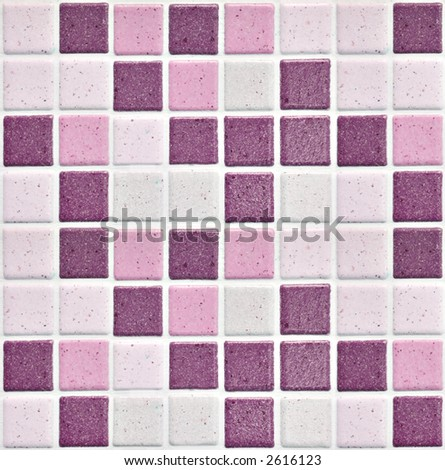 Colorful Modern Mosaic Tile In A Bathroom 2616123