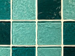 Colorful mosaic tiles for bathroom and swimming pool decoration, beautiful tiles for home decor