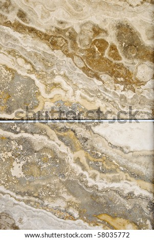 Colorful natural stone tiles - closeup background and texture
