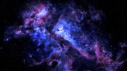 Colorful Nebula Sky background 4K
